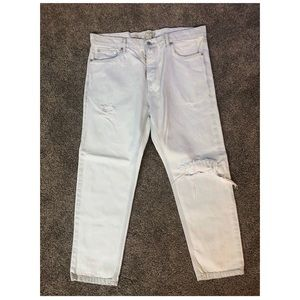 Men topman straight jeans size 36 Regular